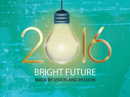 Bright New Year, Bright Future 2016